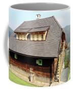 Old Wooden House On Mountain Coffee Mug