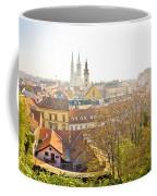 Old Zagreb Panorama In Morning Fog Coffee Mug
