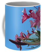 Oleander Flowers Wilting In The Brutal Florida Sun    Coffee Mug