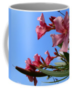 Oleander Flowers Wilting In The Brutal Florida Sun  Coffee Mug