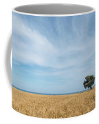 Olive Tree On The Wheat Field  Coffee Mug