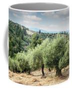 Olive Trees Hill Coffee Mug