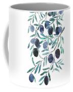 Olive Watercolor 2018 Coffee Mug