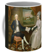 Oliver And Abigail Wolcott Ellsworth 1801 Coffee Mug