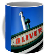 Oliver Tractor Nameplate Coffee Mug
