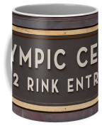 Olympic Center 1932 Rink Entrance Coffee Mug