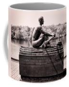 Olympic Champion - John B Kelly Coffee Mug by Bill Cannon