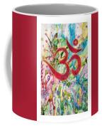 Om In Nature Coffee Mug