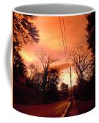 Ominous Orange Skies 1 Coffee Mug