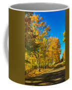 On A Country Road 4 - Paint Coffee Mug
