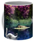 On A Lake Coffee Mug by Svetlana Sewell
