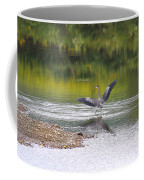 On A Stroll In The River Coffee Mug