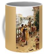On A Venetian Balcony Coffee Mug