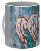 On Angel Wings Coffee Mug