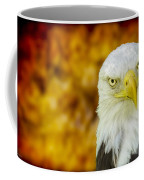 On Fire The American Bald Eagle Coffee Mug