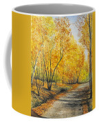 On Golden Road Coffee Mug