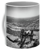 On Guard At Point Park Lookout Mountain In Tennessee Coffee Mug