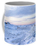 On Lake Michigan Ice Coffee Mug