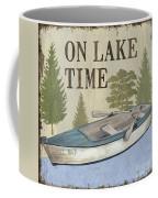 On Lake Time Coffee Mug by Debbie DeWitt