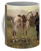 On Patrol In The Country Coffee Mug