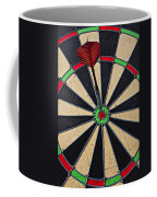 On Target Bullseye Coffee Mug
