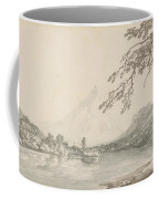 On The Aar Between Unterseen And Lake Of Brienz Coffee Mug