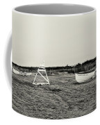 On The Beach - Avalon New Jersey In Sepia Coffee Mug