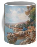 On The Beach Of Abbazia Coffee Mug