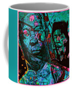 On The Blues Highway With Leadbelly And Muddy Waters Coffee Mug