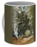 On The Castle Wall, Exeter Coffee Mug