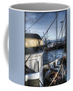 On The Docks In Provincetown Coffee Mug