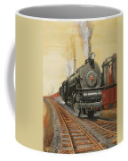 On The Great Steel Road Coffee Mug by Christopher Jenkins