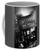 On The Half Shell - Bw Coffee Mug