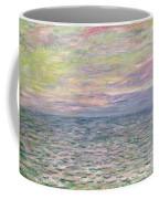 On The High Seas Coffee Mug by Claude Monet