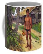 On The Old Beach Road Coffee Mug