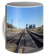 On The Right Tracks Coffee Mug