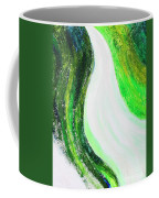 On The Road In Green Coffee Mug