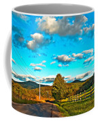 On The Road In Wv Coffee Mug