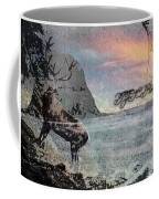 On The Rocks. Coffee Mug