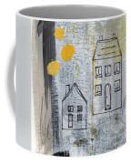 On The Same Street Coffee Mug by Linda Woods