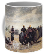 On The Shore Coffee Mug by Jacques Eugene Feyen