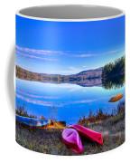 On The Shore Of Seventh Lake Coffee Mug