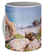 On The Shore Of The Ocean Coffee Mug