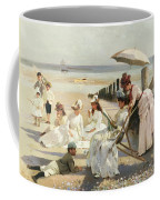 On The Shores Of Bognor Regis Coffee Mug by Alexander M Rossi
