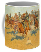 On The Southern Plains Frederic Remington Coffee Mug