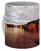 On The Vltava River Coffee Mug