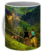 On The Way To Bran Castle Coffee Mug