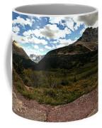 On The Way To Iceberg - Panorama Coffee Mug