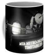 On Time At Grand Central Station Coffee Mug