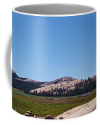 On Top Of The Mountain Valley Coffee Mug